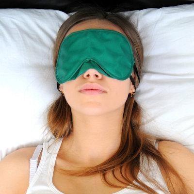 Meditazione occhio cuscino