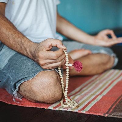 Stuoia di yoga di cotone